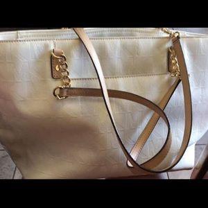MK White purse